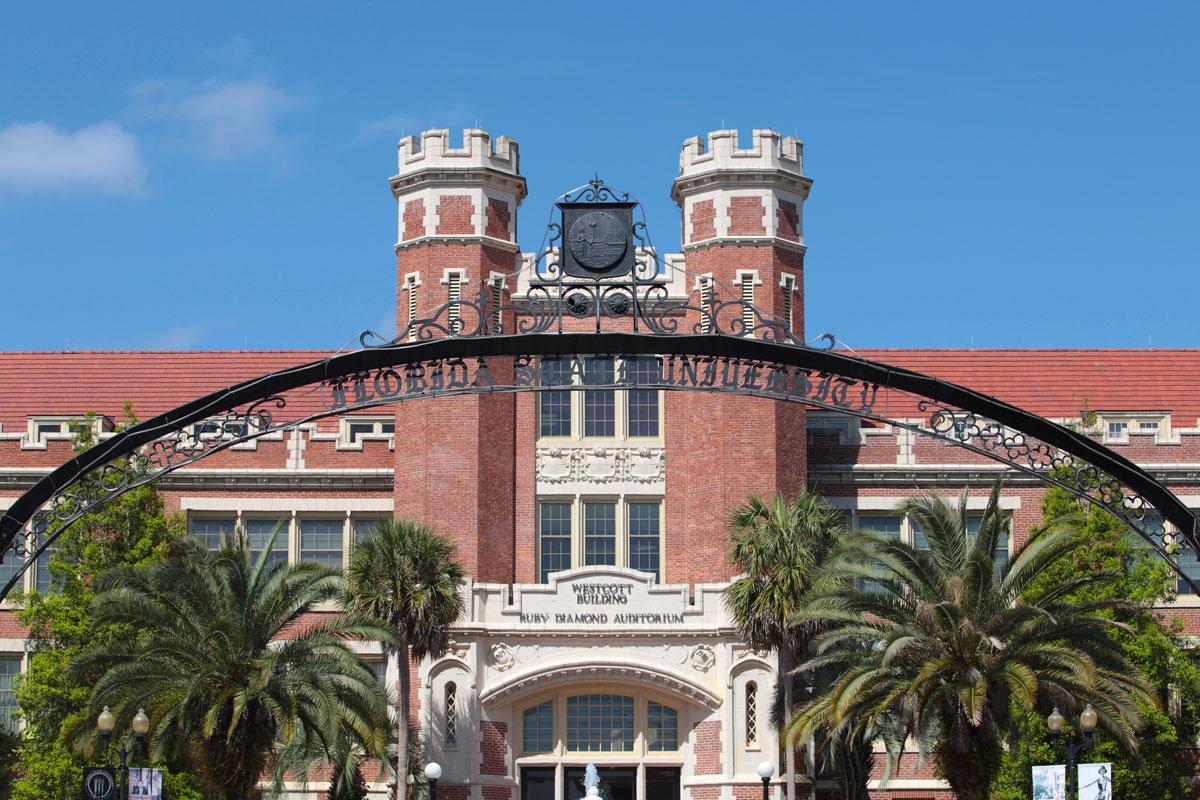 University East Gate Fsu Legacy Walk