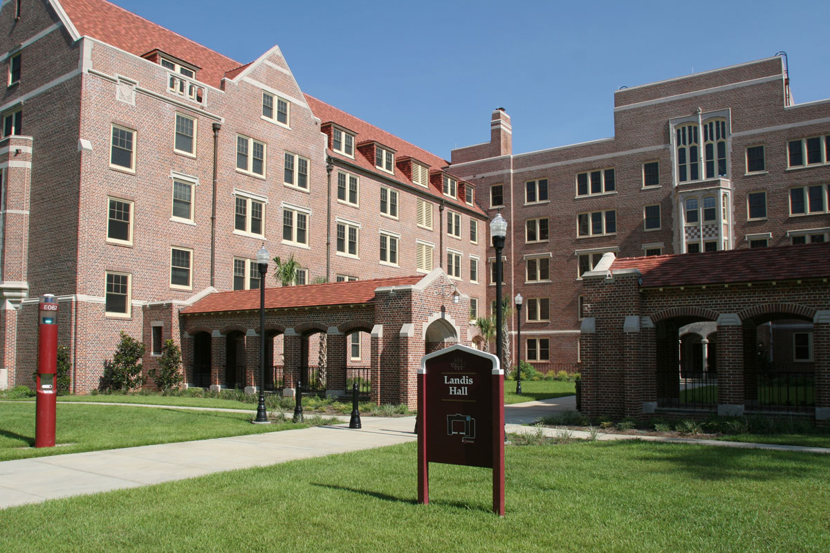 An image of Landis Hall