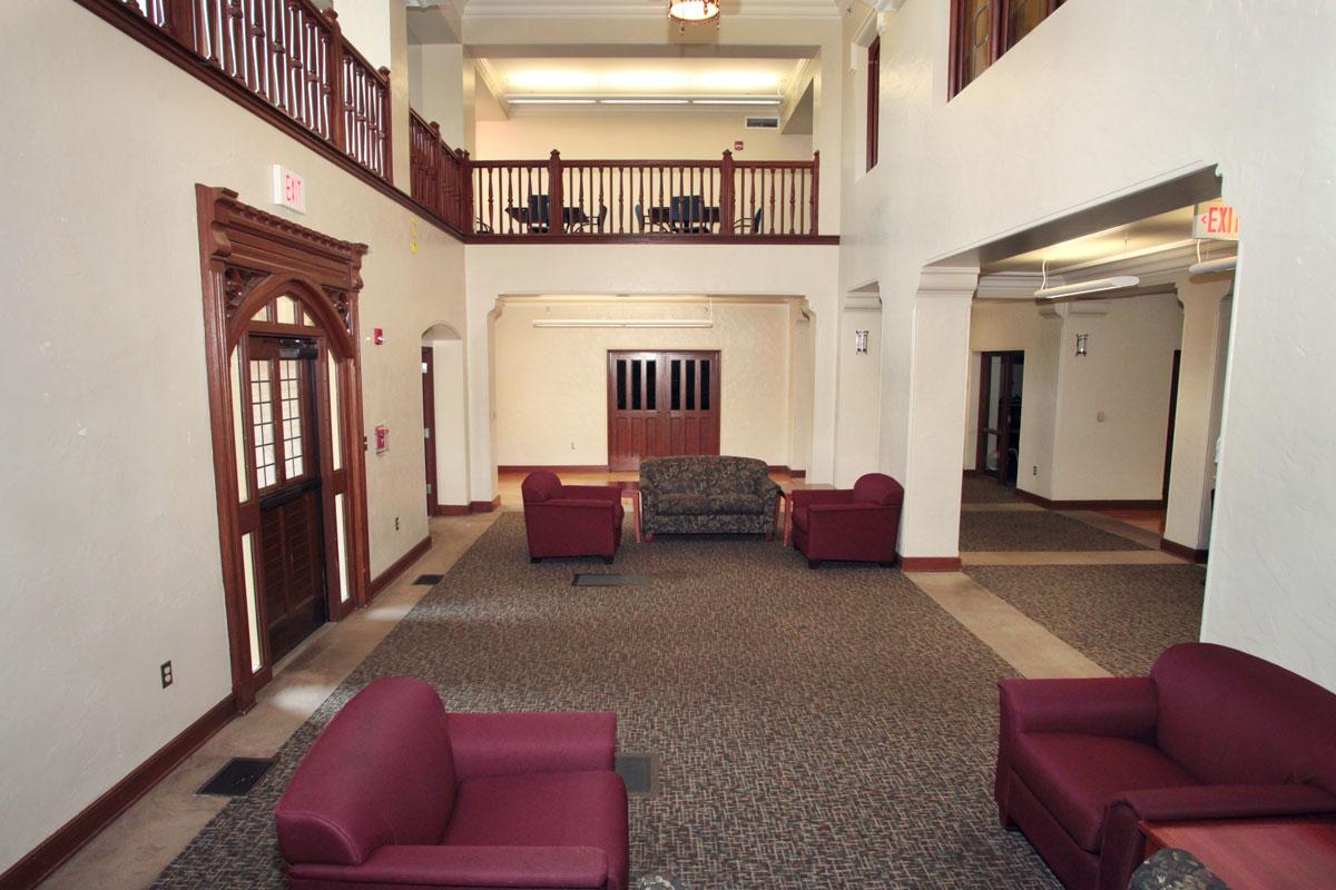 Landis Hall Dorm Room